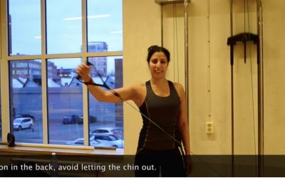 Shoulder part II – Diagonal pulls